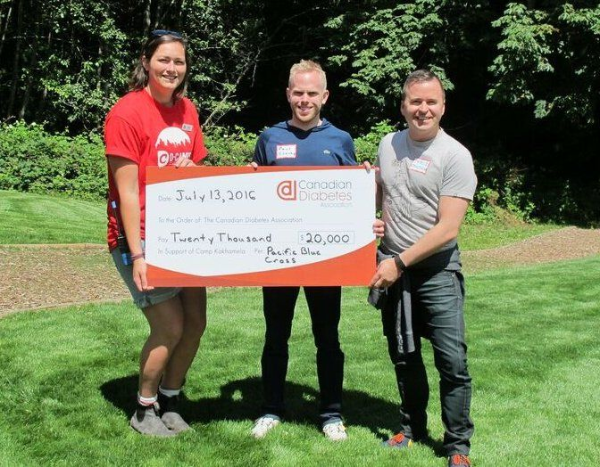 A donation to the D-Camps program!