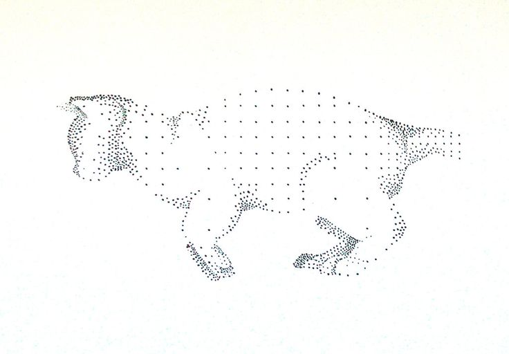 cat in dots by art-ori.deviantart.com on @DeviantArt