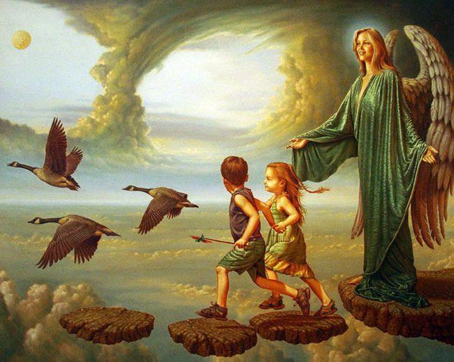 Wim Kuenen kunst, olieverfschilderijen van Wim Kuenen, surrealistische schilderijen, surrealisten kunstenaar, surrealistische kunst, fantasie kunst