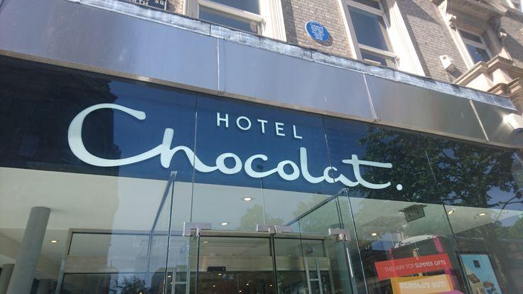 Checking in at Hotel Chocolat – Bowtie NI