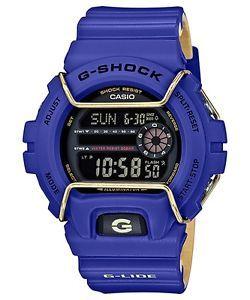 a reloj casio g shock gls 6900 2er azulprotector de acero g lide crono alarma