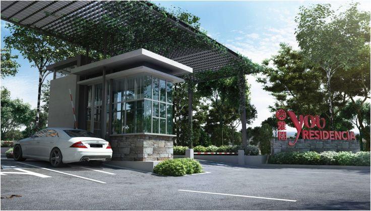 Home Design Gate Ideas: Guardhouse 別墅入口