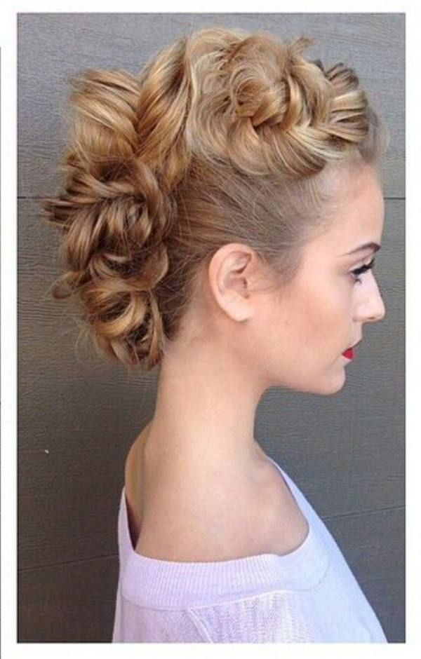 what hair style should i best 25 braided mohawk hairstyles ideas on 1294