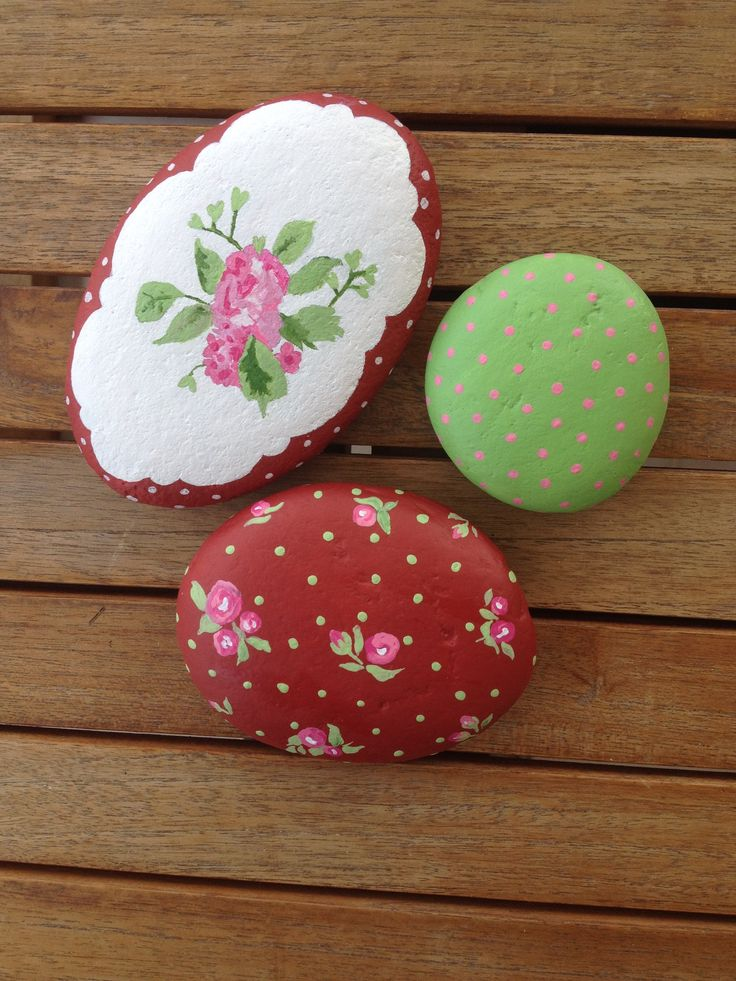 Painted stones - rocks - diy