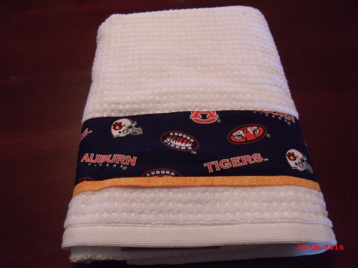 Auburn University Towel and Shower Curtain Set, Tigers Towel and Shower Curtain Set by BigCreekCottage on Etsy