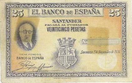 Billetes no emitidos. Siglo XX La República (y III)