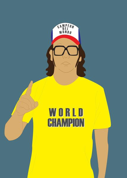 The Champ Is Here: Judah Friedlander is Performing at Just For Laughs now from July 22-27th