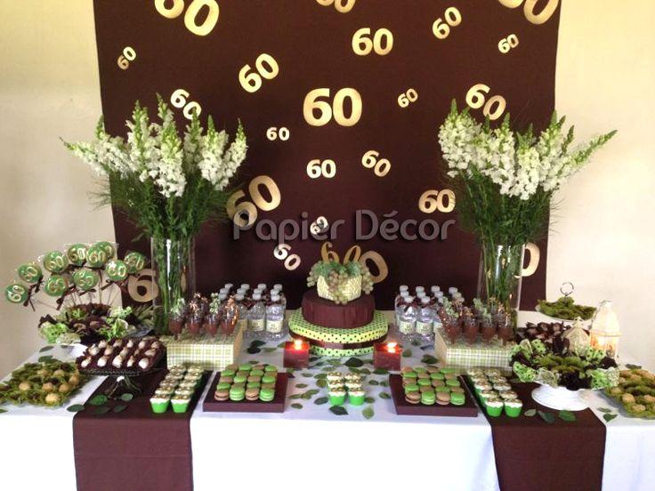 Decora la Fiesta de tu papá con bonitos colores café y pistache
