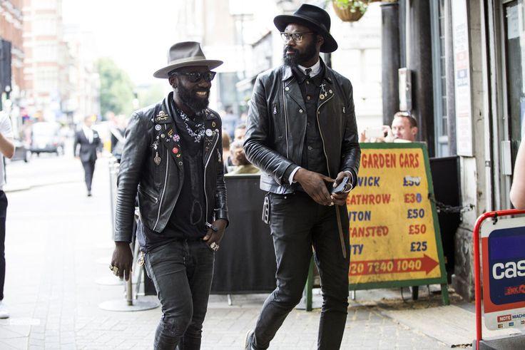 Street looks à la Fashion Week homme printemps-été 2016 de Londres | Vogue