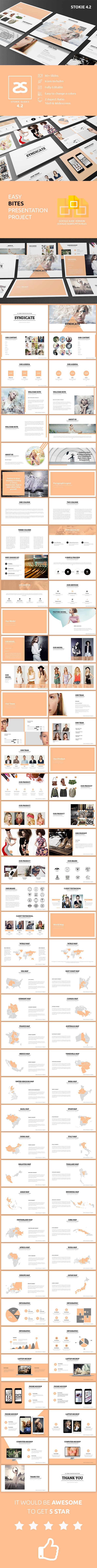 Fashion Google Slide Template 4.2 Fashion Google Slide Template 4.2 is a creative fashion google slide template, come with flat design, clean, classic, minimalist, modern presentation, fit for creative industry such as fashion agency, designer, photographer, website developer, ui/ux, and other industry.  Created to make your business presentation stand out, pain-free and professional look.  What's include?