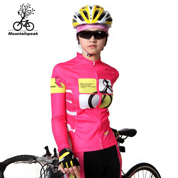 Mountainpeak Women Cycling Jersey Long Sleeve Breathable Maillot Ciclismo MTB Mountain Bike Clothing For Spring Autumn #Affiliate