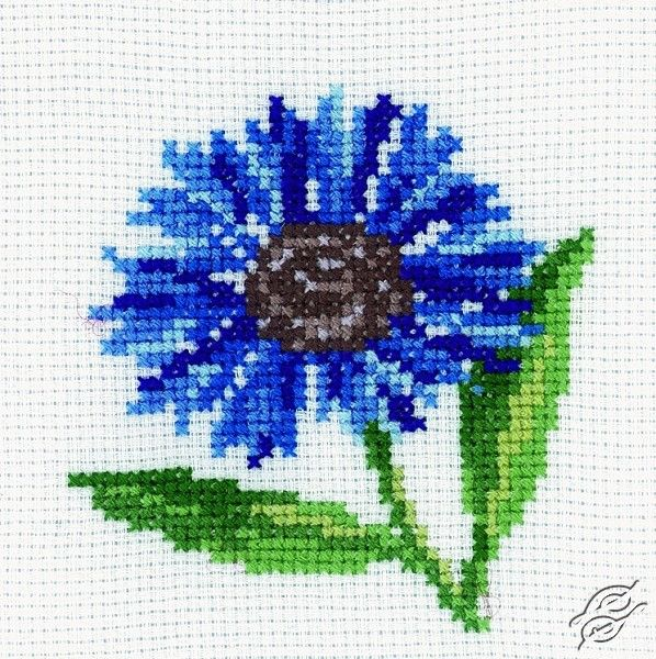 Cornflower - Cross Stitch Kits by RTO - H171