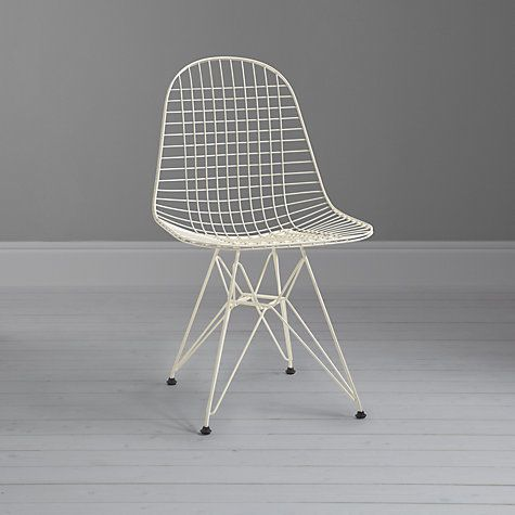 Buy Vitra Eames DKR Wire Chair Online at johnlewis.com