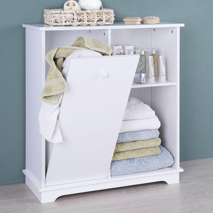 les 8 meilleures images du tableau meuble de salle de bain avec panier sur pinterest meubles. Black Bedroom Furniture Sets. Home Design Ideas