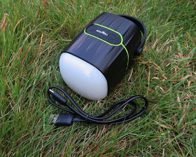 Gadget Girl Reviews: @Wolfwill rechargeable LED Camping Light, speaker and 8000mAh powerbank Review