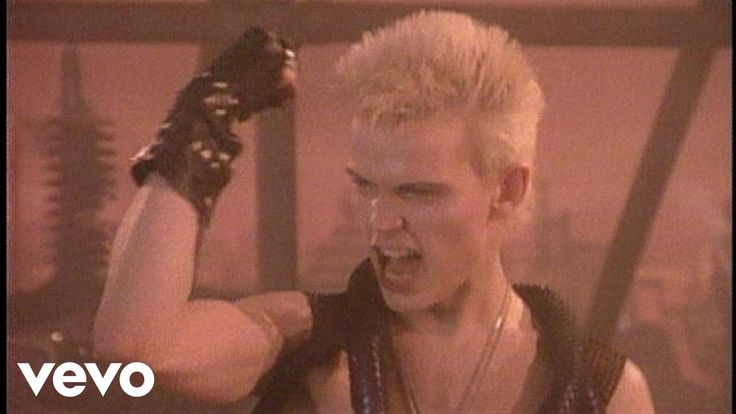 """Billy Idol - """"Dancing With Myself""""  ---Is this song really a metaphor for masterbation???  Oh well, guess I'm dancin' with myself..lol."""