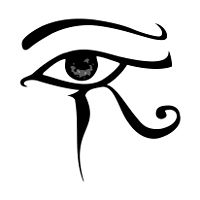Eye of Horus tattoo that I had already found and wanted but I made the mistake of showing it to my sister who stole it and pinned it before I could -_-