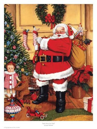 Santa Claus Art Prints at AllPosters.com