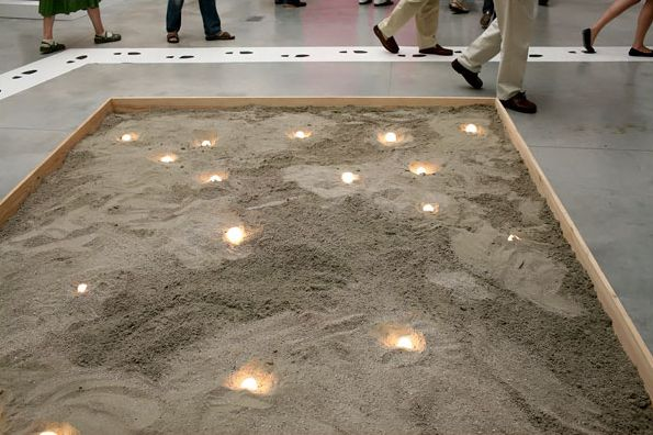 LED in sandbox