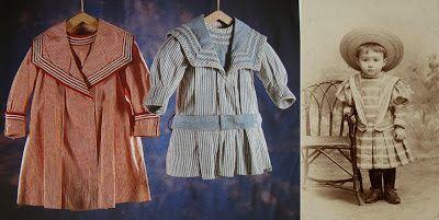 Les Petites Mains, histoire de mode enfantine: La vêture des Enfants trouvés (5) – les enfants en robe