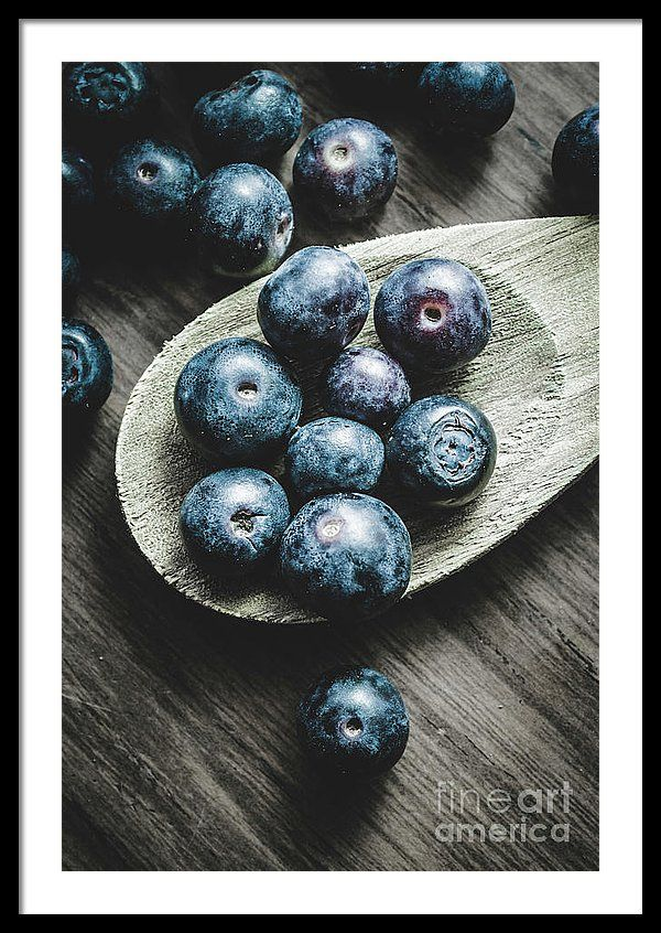 Baking Framed Print featuring the photograph Cooking With Blueberries by Jorgo Photography - Wall Art Gallery