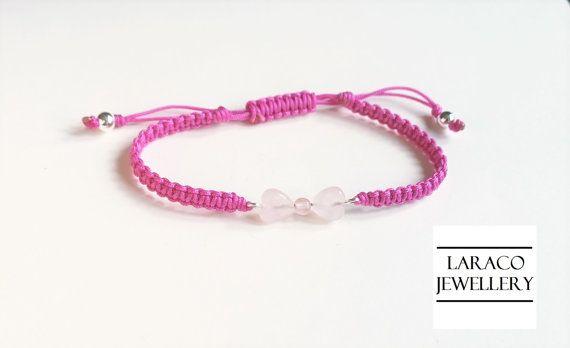 Laraco Jewellery  Sterling Silver & Rose Quartz by LaracoJewellery