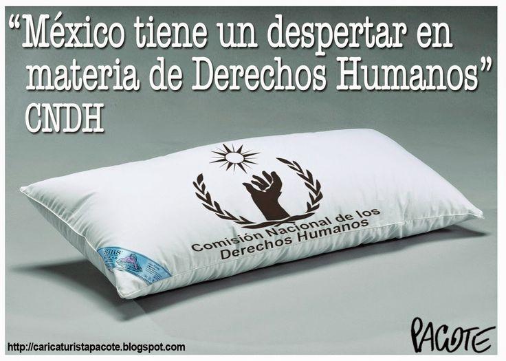 CARICATURISTA PACOTE: EL DESPERTAR DE LOS DERECHOS HUMANOS EN MÉXICO
