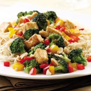 Kung Pao Tofu - skip oil: Food Recipes, Dinners Recipes, Tofu Recipes, Kung Pao, Vegans Recipes, Healthy Recipes, Healthy Food, Vegetarian Recipes, Pao Tofu