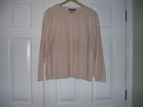 Women: Plus Size 2x Pink Pull-Over Sweater By Ralph Lauren (FREE