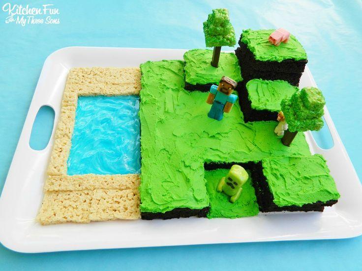 10 best minecraft bday images on Pinterest Minecraft cake 8th