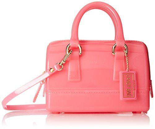 Furla Candy Sweetie Mini Satchel #CandySweetie #FURLA #FURLACandy #FurlaCandyHandbags #FurlaCandySweetieMiniSatchel #Handbags #MiniSatchel #Sweetie #TopHandleBags
