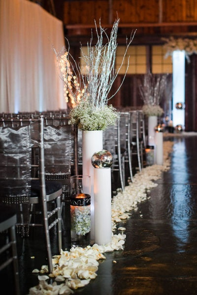 Winter Wedding Decor Simple Id Think It Would Be Cute If I Saw