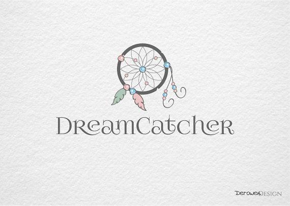 Logo design - Dromenvanger. Fotografie logo en watermerk. Sieraden logo en watermerk. Handgemaakt logo, premade.