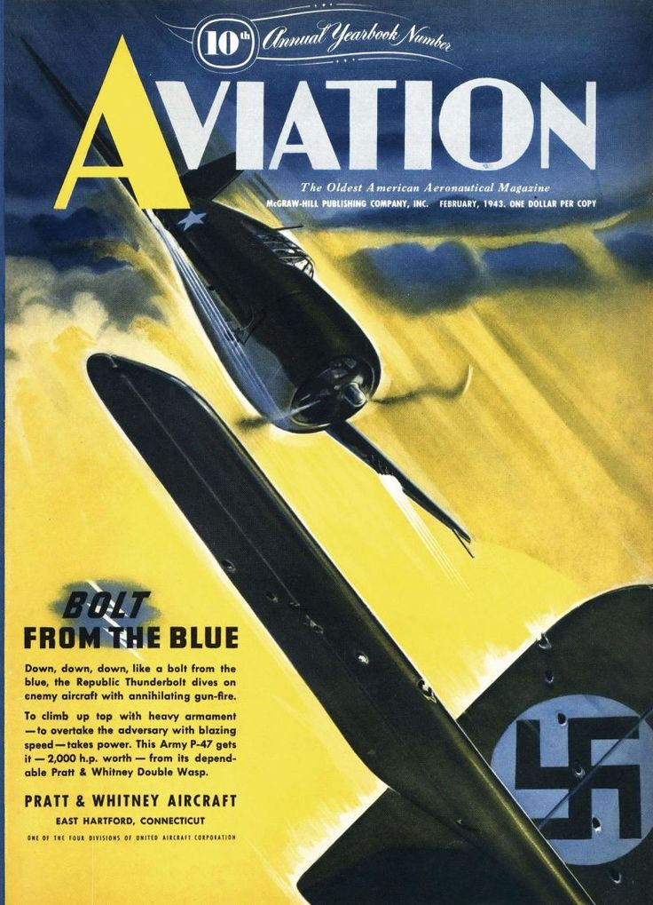 Bolt from the blue. Aviation, February 1, 1943