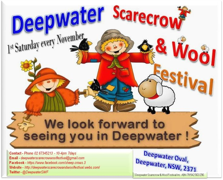 We look forward to seeing you in Deepwater!