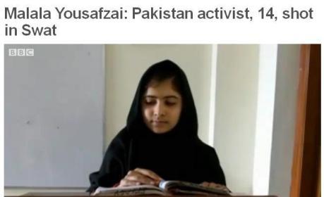 Malala, laureata a Premiul National pentru Pace, Pakistan