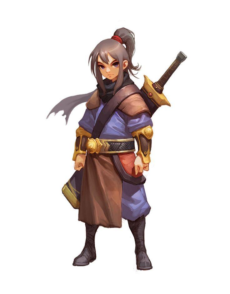 Mobile Game Character Concept, Myoung Hwan Kim on ArtStation at https://www.artstation.com/artwork/0oVR5