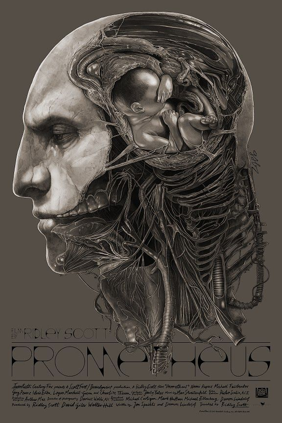 Prometheus Poster by Gabz Release