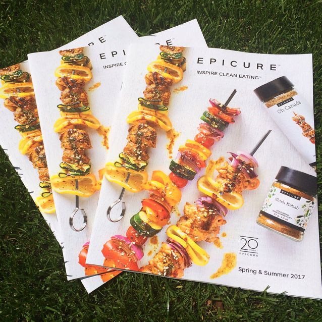 Put the sizzle in you Summer with Epicure's NEW