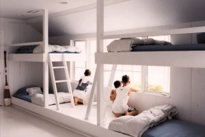 Share Design — Scandinavian Childrens Bedroom Bunks