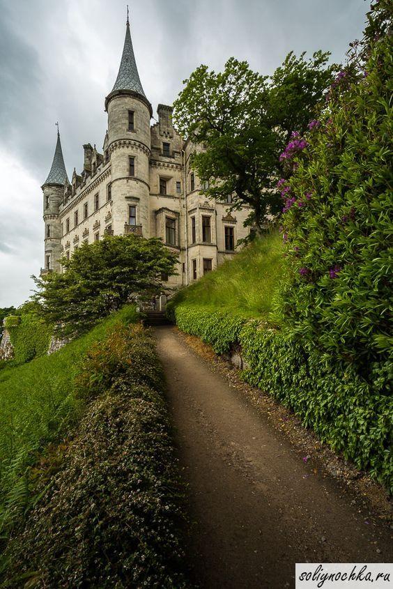 Замок Данробин (Dunrobin Castle) в Шотландии, Великобритания