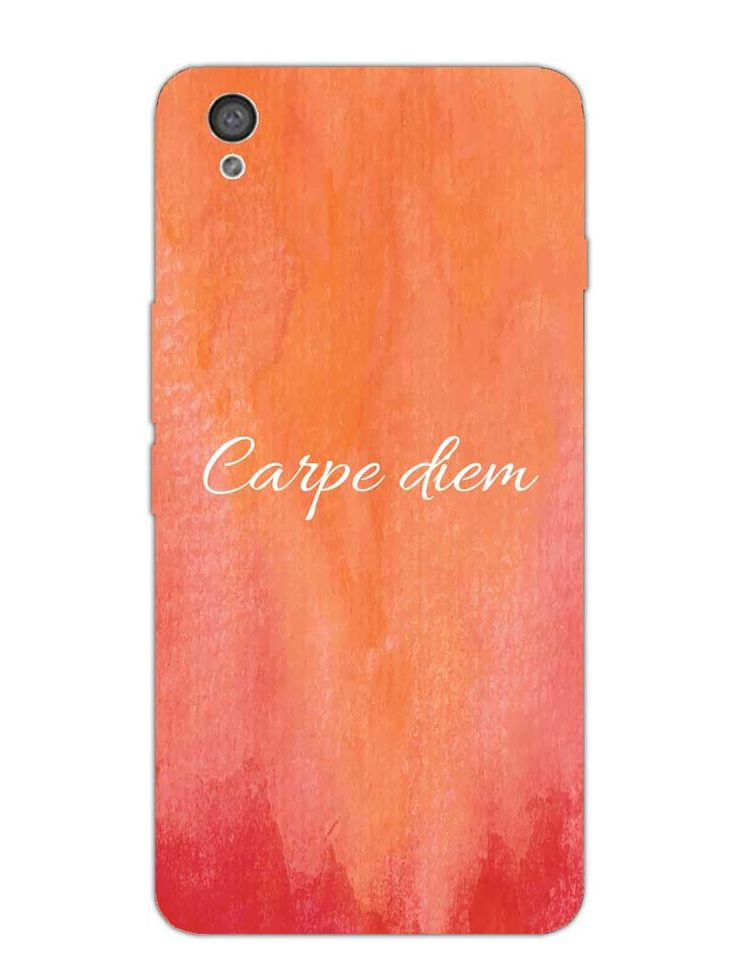 Carpe Diem - Designer Mobile Phone Case Cover for OnePlus X