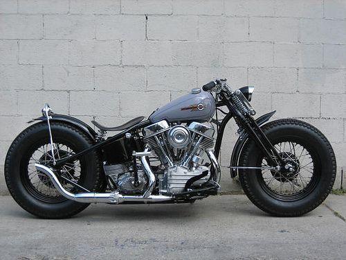 Harley Vintage Custom Bobber (22)