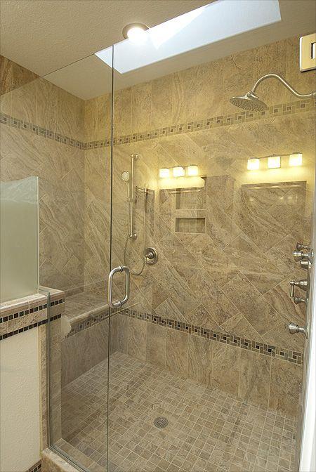 Redesigning The Master Bathroom Removing The Bathtub Enlarging The Shower Highlands Ranch