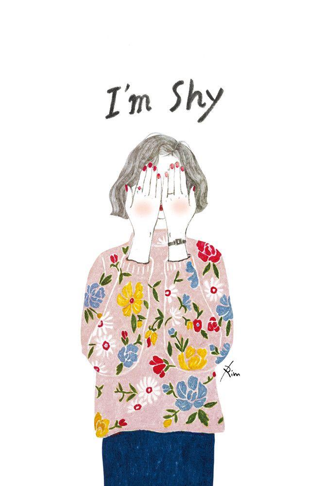 shy - 디지털 아트, 일러스트레이션