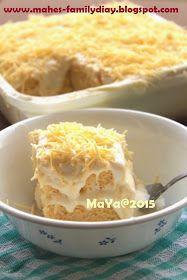 Bunda MAHE's Kitchen: Cheesecake Meleleh / Chizkek Lumer