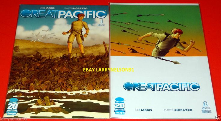 GREAT PACIFIC 1 & 2 IMAGE COMICS FIRST PRINT JOE HARRIS MARTIN MORAZZO NM NEW NR