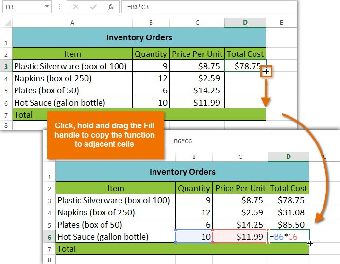 create pdf form with excel formulas