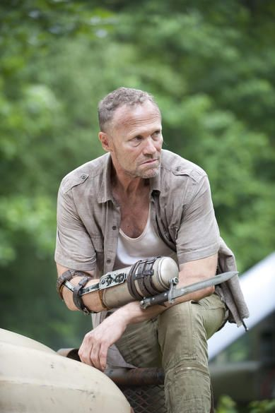 A Definitive Ranking of The Walking Dead Baes : 18. Merle Dixon (Michael Rooker)