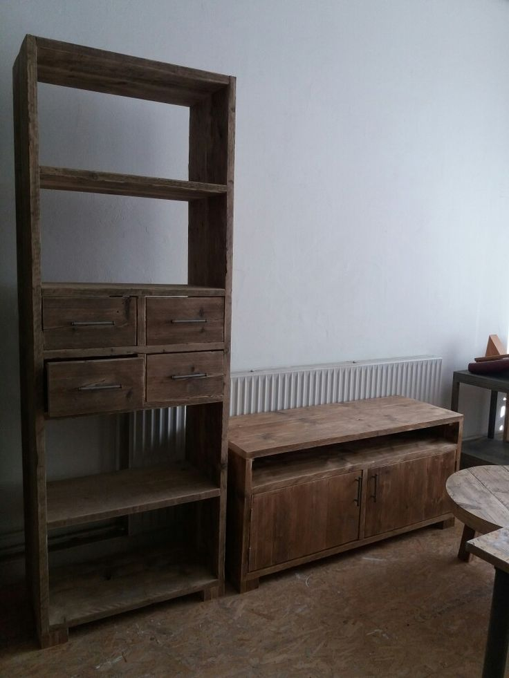 Bookcase with some drawers